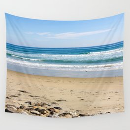 Rocky Beach Wall Tapestry