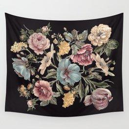 DARK FLORA Wall Tapestry