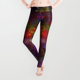 Love Exuded From The Crown Leggings