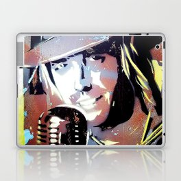 Tom Petty. legend. painting. print. Laptop & iPad Skin