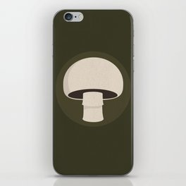 champignon iPhone Skin