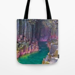 MOTHER NATURE-STUNNING SEA CAVE Tote Bag