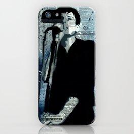 *IAN CURTIS/STENCIL* iPhone Case