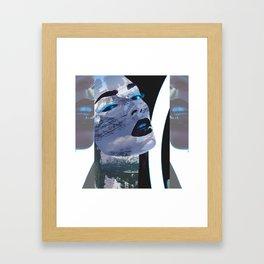 Rocky Mountain Widow Framed Art Print