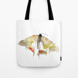 Sunset Moth Tote Bag