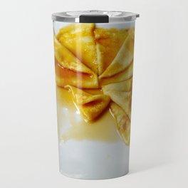 Lemon Crepes Travel Mug