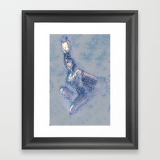 Isis sketch and wash Framed Art Print