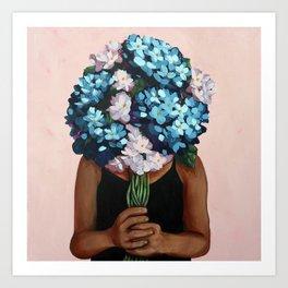 Dreamy Blooms Art Print