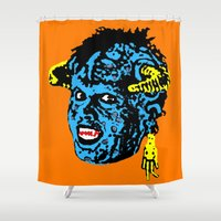"""1989 Shower Curtains featuring """"Mourning My Youth"""" Series 