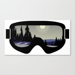 Morning Goggles Canvas Print