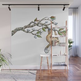 Slow Tea Wall Mural