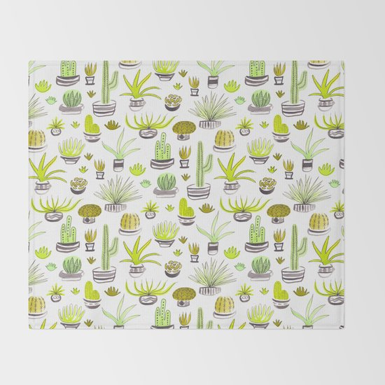 Cactus Jack Green Pattern by patricehorvath