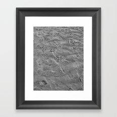 we all leave our mark. Framed Art Print