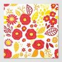 Doodle floral pattern by katerinamitkova