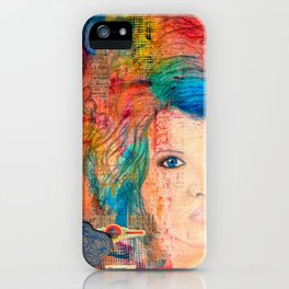 Tousled iPhone Case