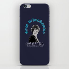 Family Business - Sam Winchester iPhone Skin