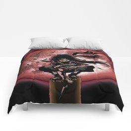 uciha itachi month Comforters