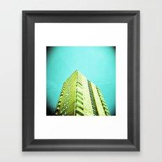 High Rise Framed Art Print