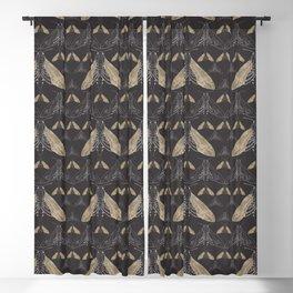 Moth pattern Blackout Curtain