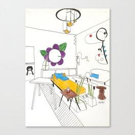 Room After Calder Canvas Print