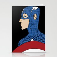captain silva Stationery Cards featuring Captain by nu boniglio