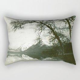 Glacier Park Lake McDonald August 1937 Rectangular Pillow