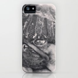 Cold Winters Pug iPhone Case