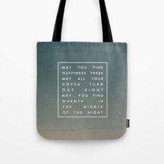 III. Find Happiness Tote Bag