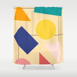 No. 3 Shower Curtain