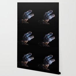 Dinosaurs...in Space Wallpaper
