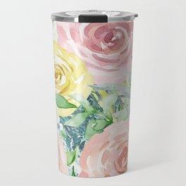 Botanical Pastel Beauty Travel Mug