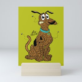 Courage Doo Mini Art Print