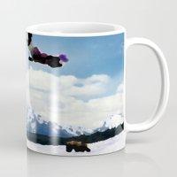 ski Mugs featuring ski Mountain by Colton