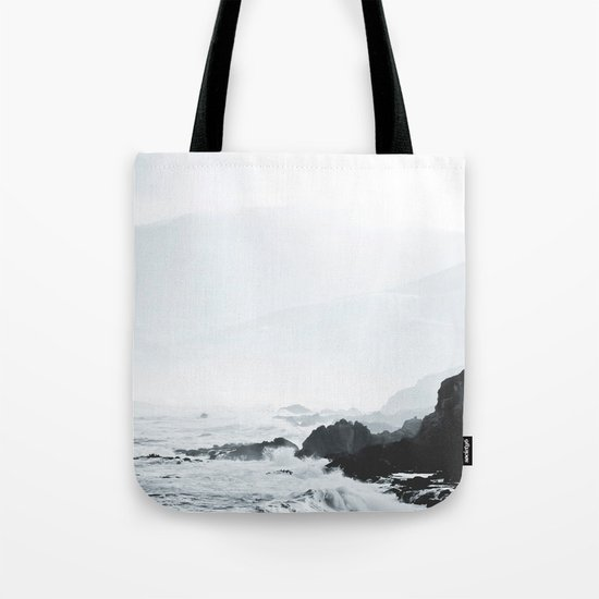 Sea Waves Seascape, Ocean Waves Photography, Sea Coast, Sea Beach Tapestry, Pillow etc Tote Bag