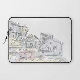 Whimsical town Laptop Sleeve