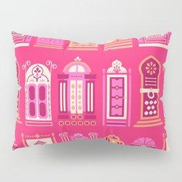 Moroccan Doors – Pink Palette Pillow Sham