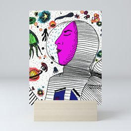 Dream sailor Mini Art Print