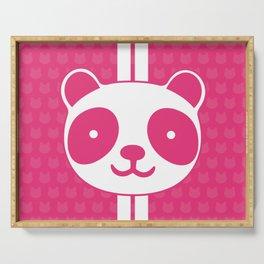 Pink Panda Serving Tray