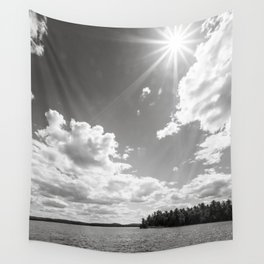shining down Wall Tapestry
