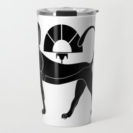 Sphinx - mythical creatures of ancient Egypt Travel Mug