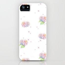 Dreamy Hydrangea iPhone Case