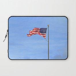 Flag on Skinner Butte Laptop Sleeve