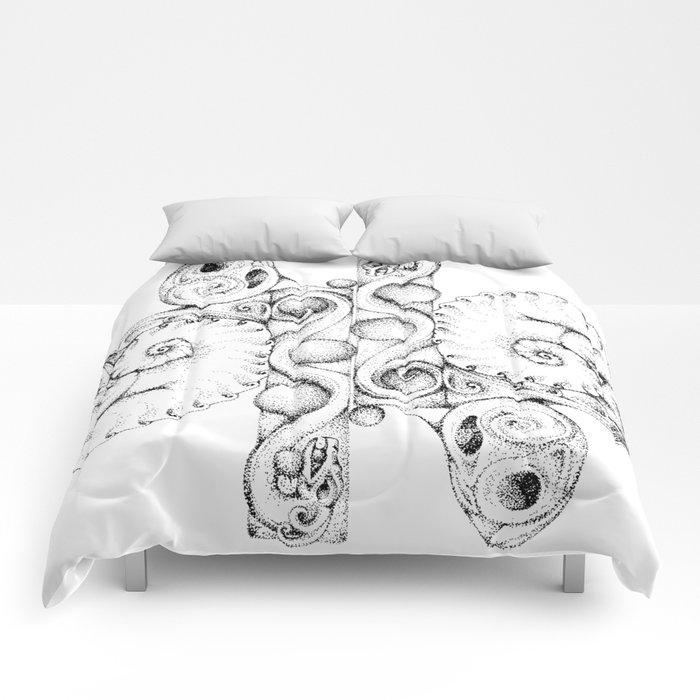 A Dragon Life Cycle Comforters