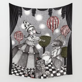 Alice's After Tea Concert Wall Tapestry