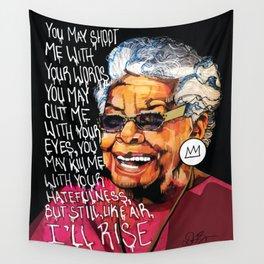 Maya Angelou Wall Tapestry
