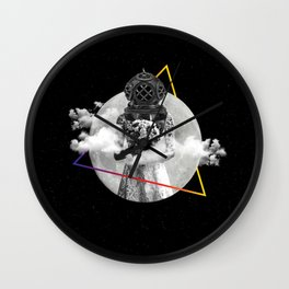 Love in a Space-Dye Vest Wall Clock
