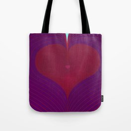 I Heart Lines Tote Bag