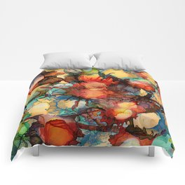 Color Splash 2 Comforters