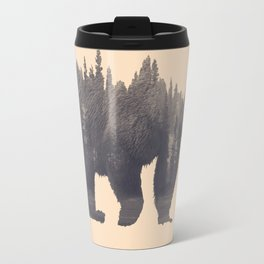 forest in the bear Travel Mug