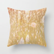 i am grass Throw Pillow